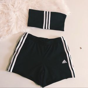 Reworked Vintage Adidas 2 Piece Set